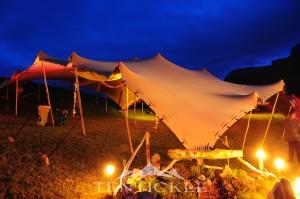 Tentickle Festival Mobiler Sonnenschutz