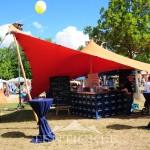 Tentickle Festival Sonnenschutz Mobil